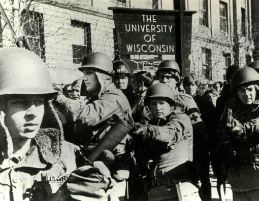 Nationalgarde auf dem Gelände der Universität Wisconsin Foto: Berlinale