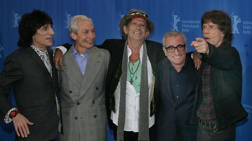 Die Rolling Stones auf der Berlinale ®Kinowelt