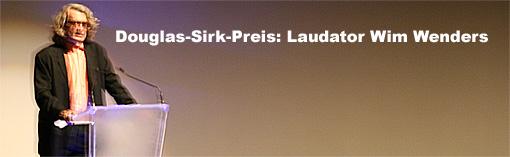 Laudator Wim Wenders Foto: Jutta Engelmayer