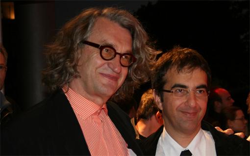 Wim Wenders und Atom Egoyan Foto: Jutta Engelmayer