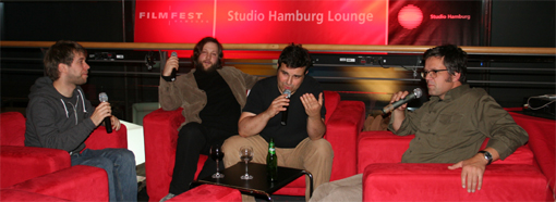 Die Crew des Ohrensessel Foto: (c) Ulf Engelmayer