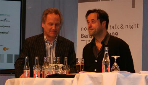 Kaspar Heidelbach und Jan Josef Liefers Foto: Ulf Engelmayer